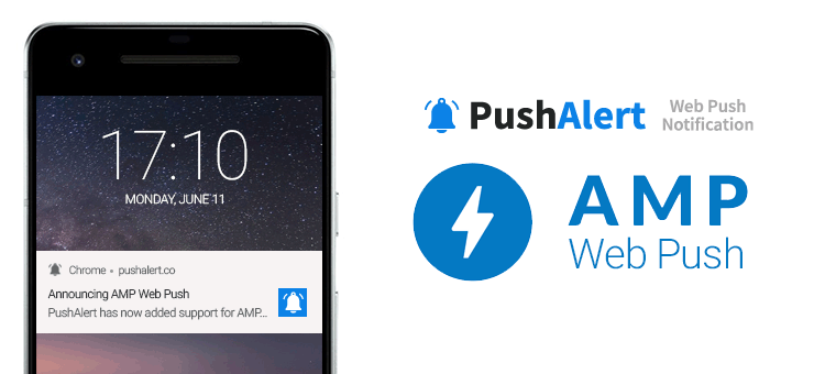 AMP Web Push Notifications