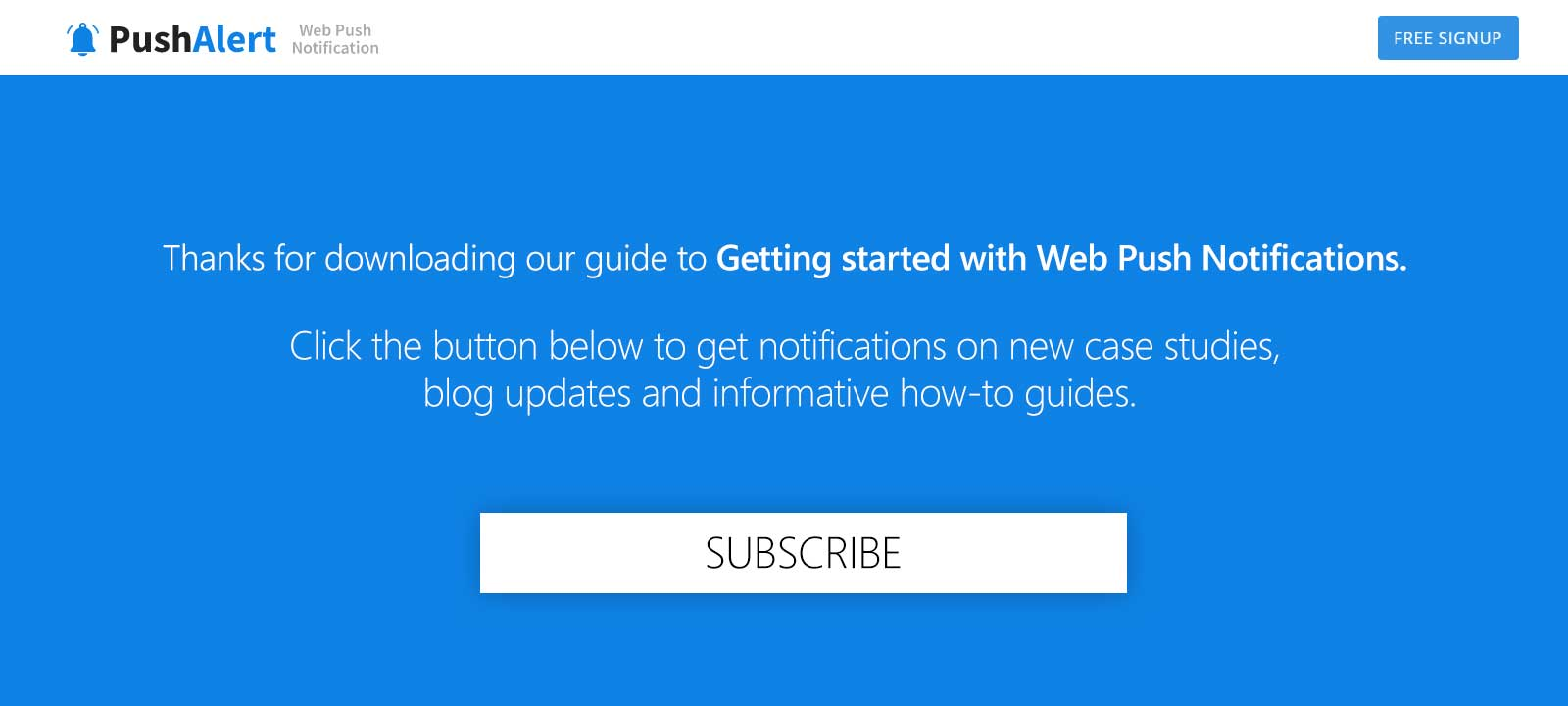 Trigger Push Notification Opt-in With Custom Buttons