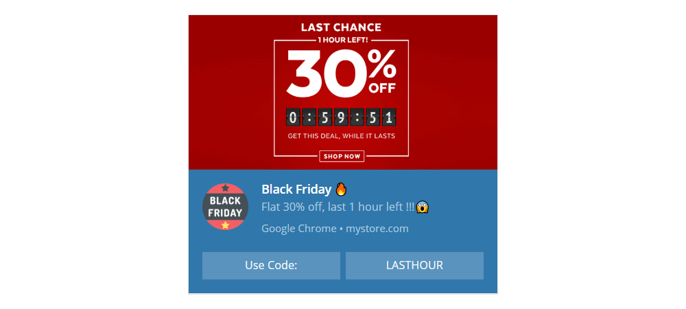 Last Chance Deals Template - Black Friday 2020